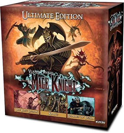 Mage Knight: The Boardgame Ultimate edition-Board game-Multizone: Comics And Games | Multizone: Comics And Games