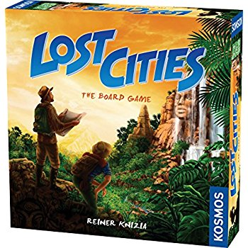 Lost cities: boardgame-Board game-Multizone: Comics And Games | Multizone: Comics And Games