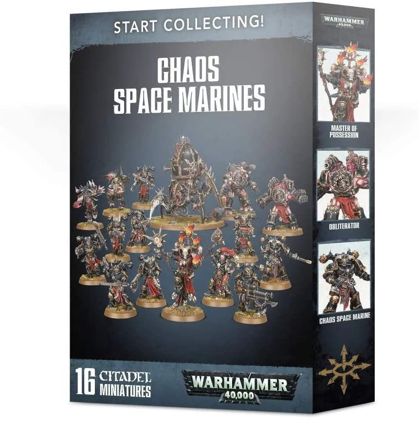 Start Collecting Chaos Space Marines | Multizone: Comics And Games