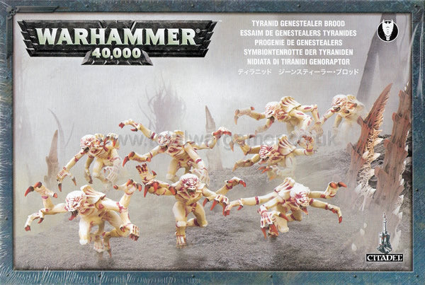 Genestealer Brood (Purestains)-Miniatures|Figurines-Multizone: Comics And Games | Multizone: Comics And Games