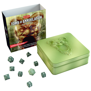 D&D 5e: Tomb of Annihilation dice