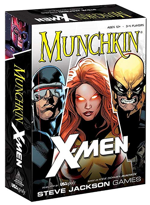 Munchkin X-Men-Board game-Multizone: Comics And Games | Multizone: Comics And Games