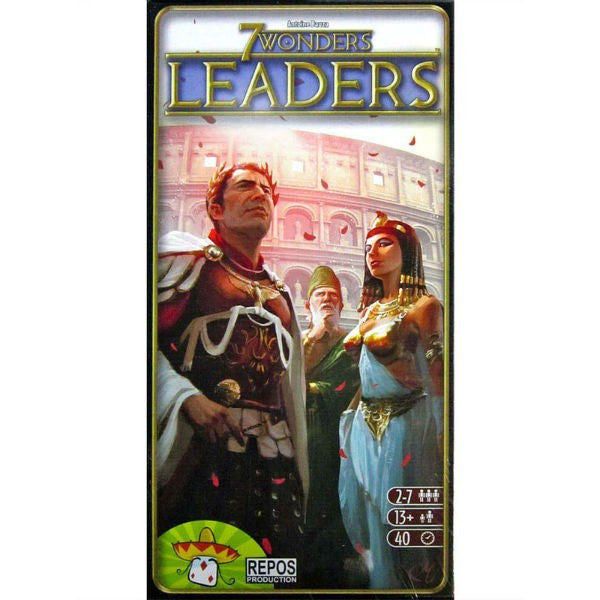 7 Wonders: Leaders (ENG)-card game-Multizone: Comics And Games | Multizone: Comics And Games