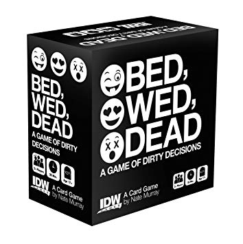 Bed, Wed, Dead-Board Game-Multizone: Comics And Games | Multizone: Comics And Games