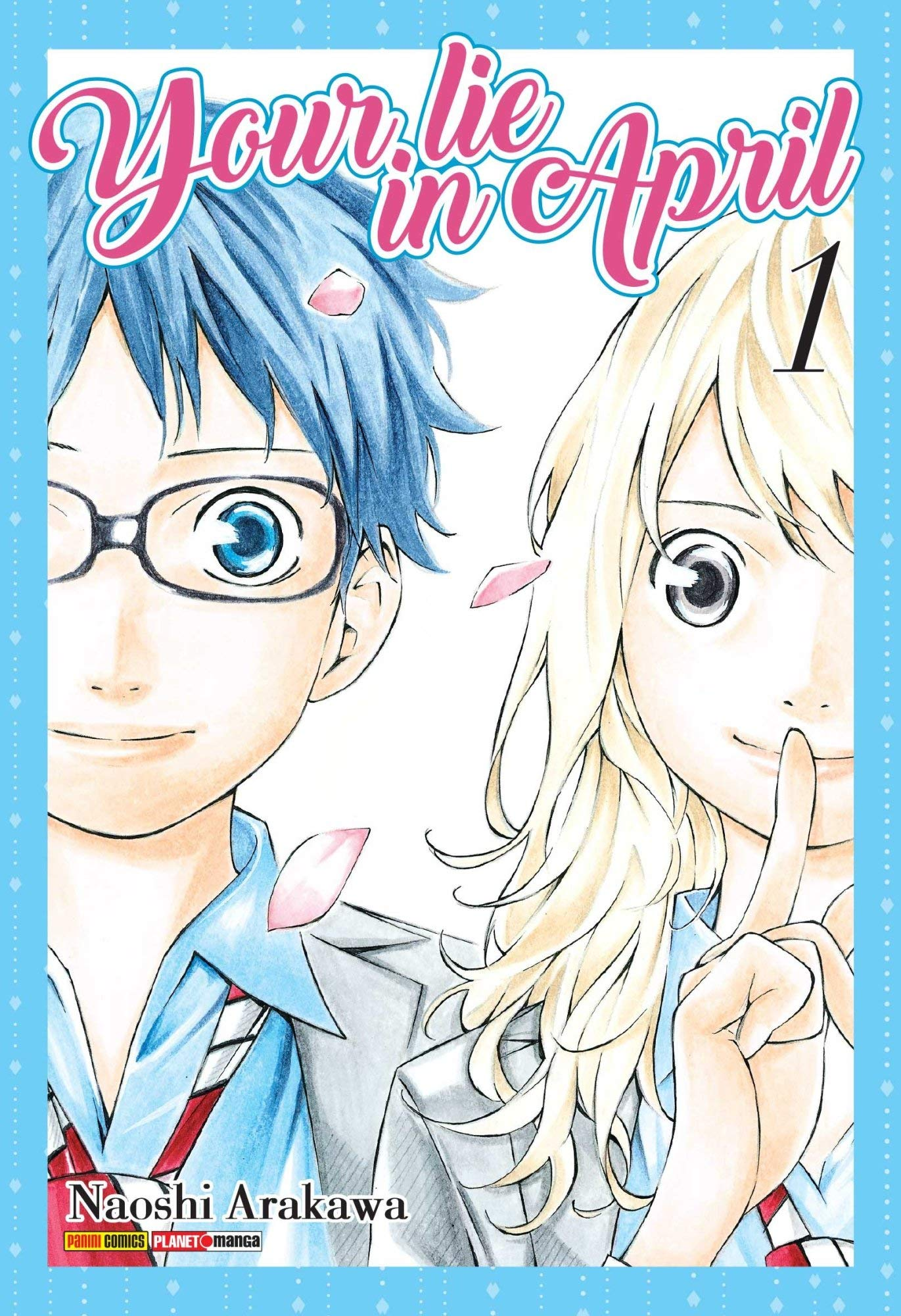 Your lie in april Vol. 1 | Multizone: Comics And Games