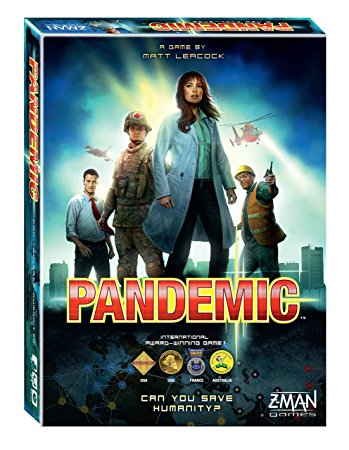 Pandemic-Board game-Multizone: Comics And Games | Multizone: Comics And Games