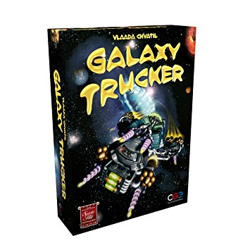 Galaxy Trucker-Board game-Multizone: Comics And Games | Multizone: Comics And Games