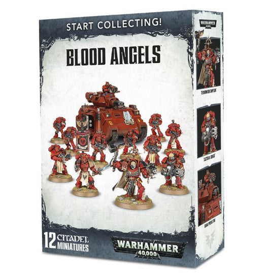 Start Collecting Blood Angel