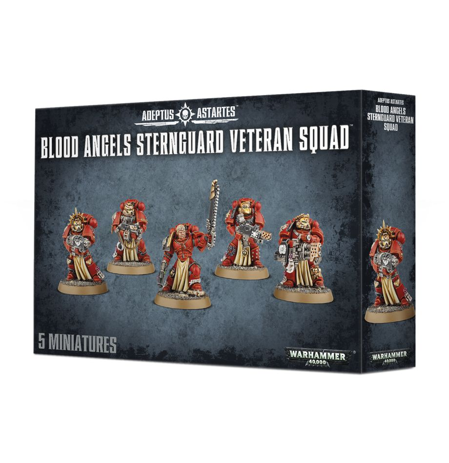 Blood Angels Sternguard Veteran Squad-Warhammer 40k-Multizone: Comics And Games | Multizone: Comics And Games