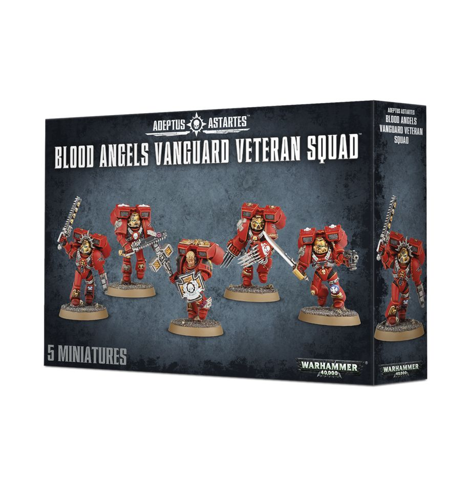 Blood Angels Vanguard Veteran Squad-Warhammer 40k-Multizone: Comics And Games | Multizone: Comics And Games