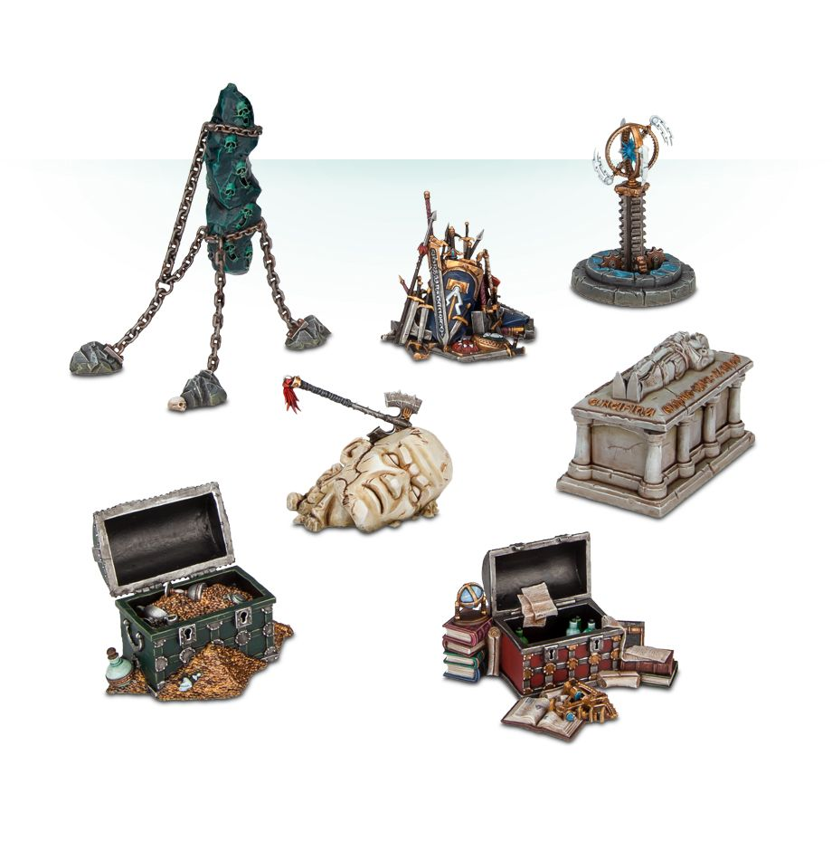 Warhammer Age of Sigmar Shattered Dominion Objectives-Miniatures|Figurines-Multizone: Comics And Games | Multizone: Comics And Games