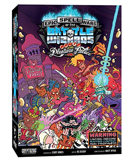 Epic Spell Wars of the Battle Wizards 4