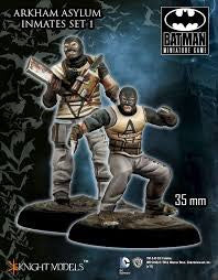 ARKHAM ASYLUM INMATES SET I-Batman Miniature Game-Multizone: Comics And Games | Multizone: Comics And Games