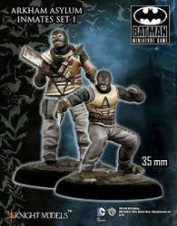 ARKHAM ASYLUM INMATES SET I-Batman Miniature Game-Multizone: Comics And Games