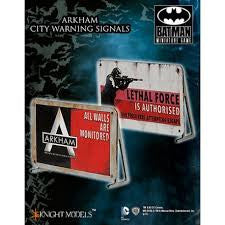 ARKHAM CITY WARNING SIGNALS-Batman Miniature Game-Multizone: Comics And Games | Multizone: Comics And Games