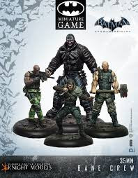 BANE CREW-Batman Miniature Game-Multizone: Comics And Games