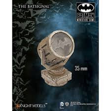 THE BATSIGNAL (OBJECTIVE MARKER)-Miniatures|Figurines-Multizone: Comics And Games | Multizone: Comics And Games
