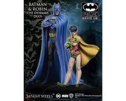 BATMAN & ROBIN (THE DYNAMIC DUO)-Batman Miniature Game-Multizone: Comics And Games