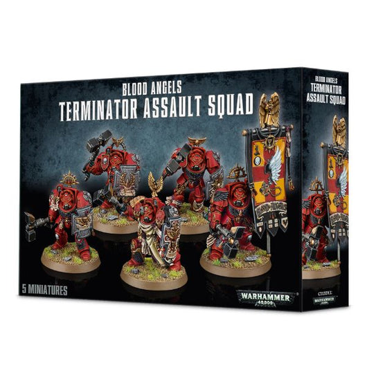Blood Angels Terminator Assault Squad-Warhammer 40k-Multizone: Comics And Games