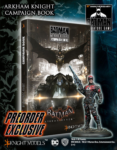 ARKHAM KNIGHT CAMPAIGN BOOK-Batman Miniature Game-Multizone: Comics And Games | Multizone: Comics And Games