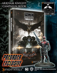 ARKHAM KNIGHT CAMPAIGN BOOK-Batman Miniature Game-Multizone: Comics And Games