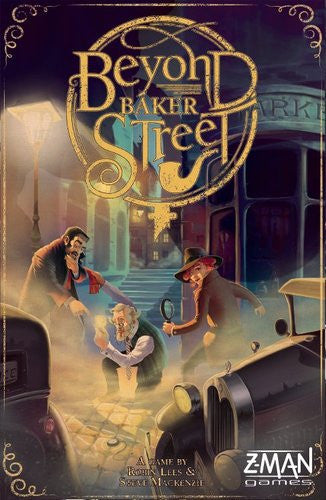 Beyond Baker Street (ENG)-Board game-Multizone: Comics And Games | Multizone: Comics And Games