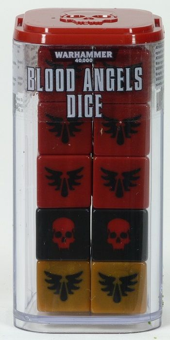 Blood Angels Dice