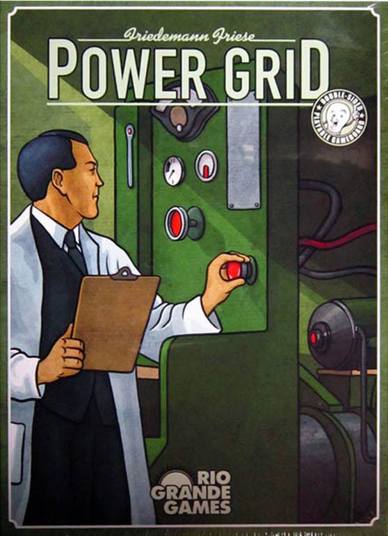 Power Grid-Board game-Multizone: Comics And Games | Multizone: Comics And Games