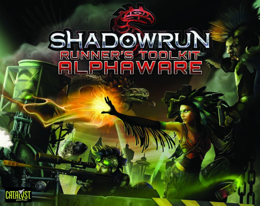 Shadowrun: Runner's Toolkit Alphaware | Multizone: Comics And Games