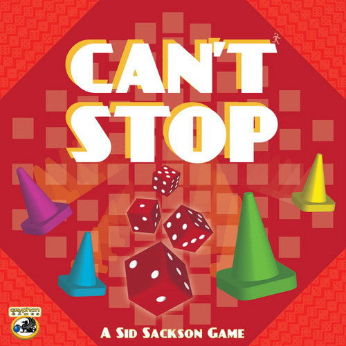 Can't Stop (ENG)-Board game-Multizone: Comics And Games | Multizone: Comics And Games
