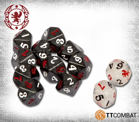 Gifted Dice-Miniatures|Figurines-Multizone: Comics And Games | Multizone: Comics And Games