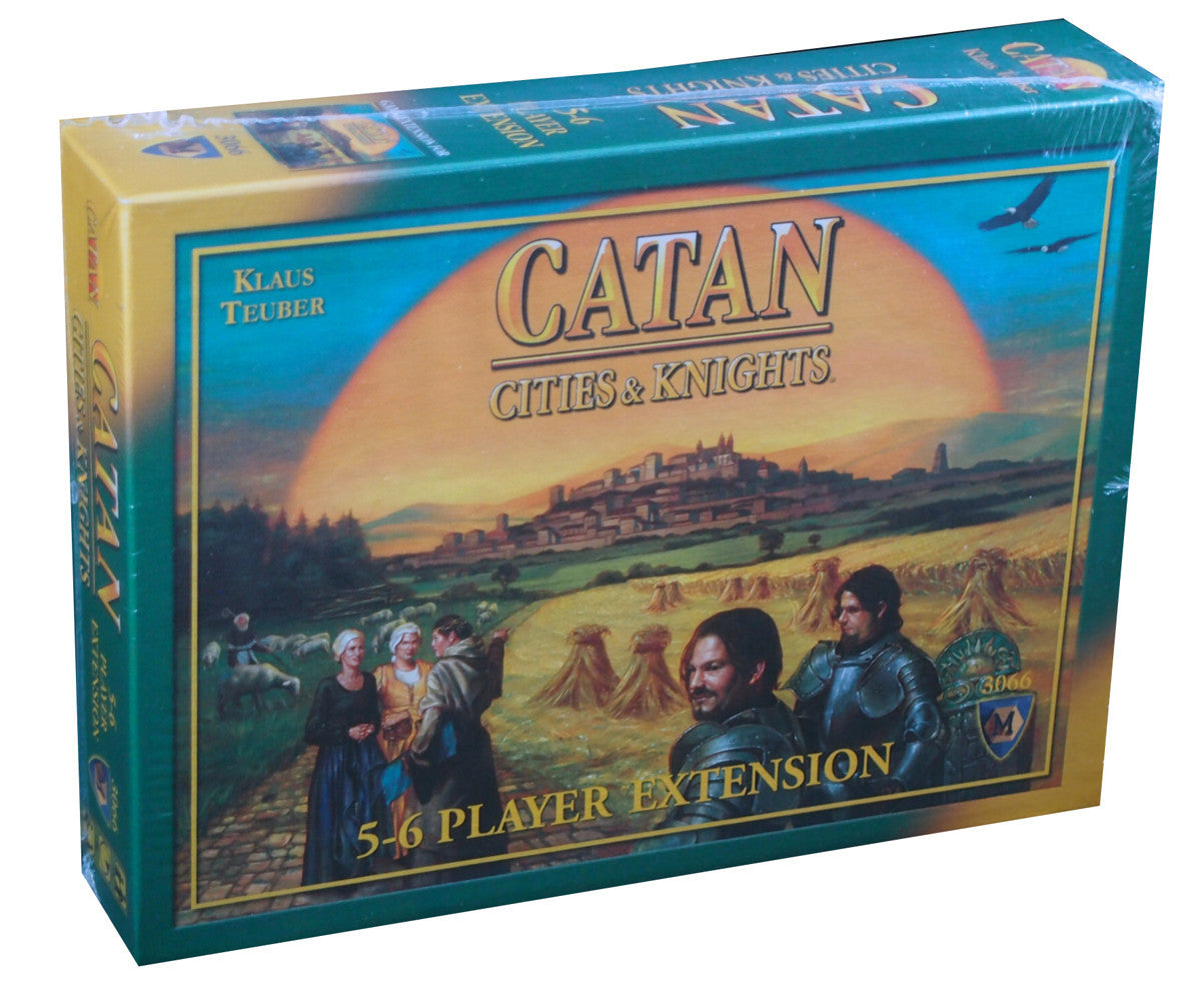 Catan: Cities & Knights (3066) (ENG) (5-6 players)-Board game-Multizone: Comics And Games | Multizone: Comics And Games