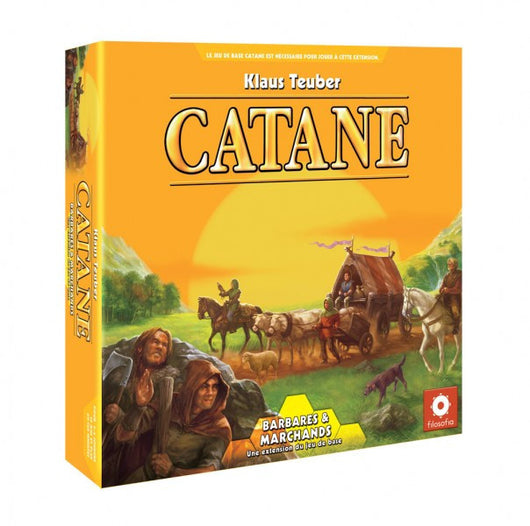 Catane: Barbares et Marchands (FR)-Board game-Multizone: Comics And Games