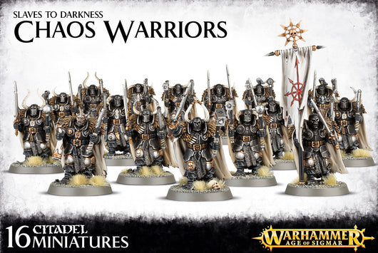 Chaos Warriors Regiment-Miniatures|Figurines-Multizone: Comics And Games
