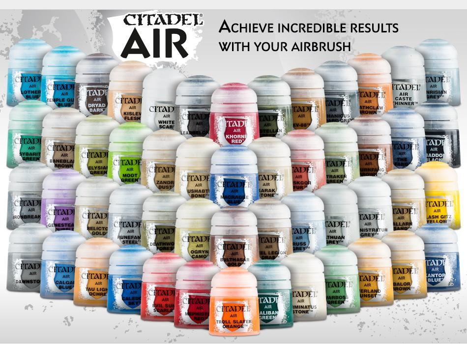 Citadel Air Paint | Multizone: Comics And Games