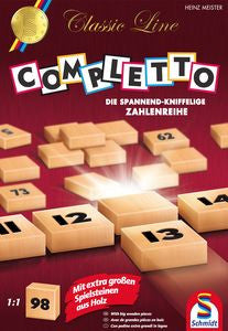Completto (ENG)-Board game-Multizone: Comics And Games | Multizone: Comics And Games