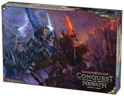 D&D: Conquest of Nerath (ENG)-Board game-Multizone: Comics And Games | Multizone: Comics And Games