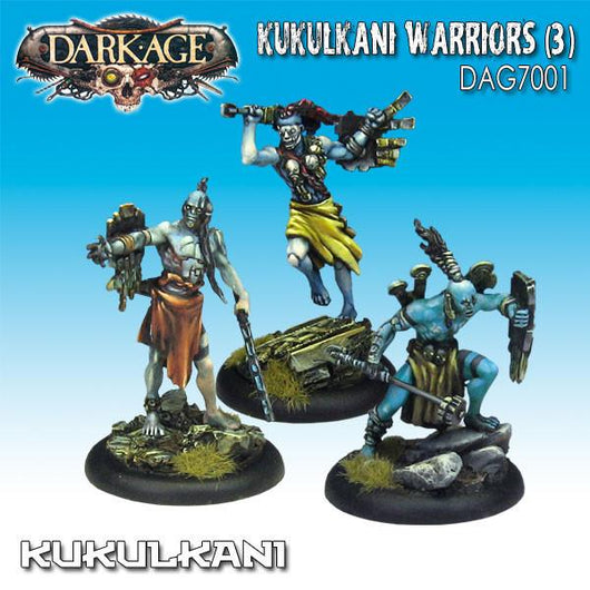 Kukulkani Warriors Unit Box (3)