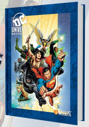 DC Universe Rulebook - Heroes cover-Miniatures|Figurines-Multizone: Comics And Games | Multizone: Comics And Games