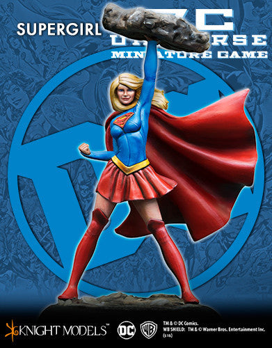 SUPERGIRL-Batman Miniature Game-Multizone: Comics And Games | Multizone: Comics And Games