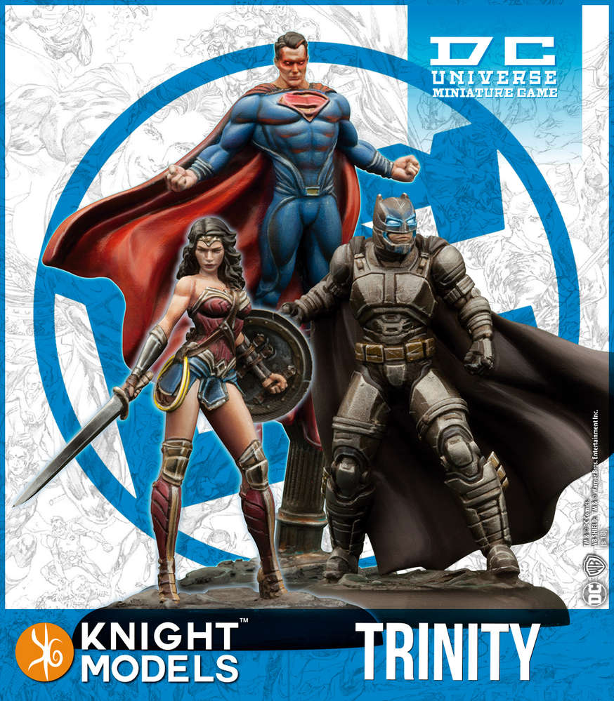 B V S: Trinity (resin)-Batman Miniature Game-Multizone: Comics And Games | Multizone: Comics And Games