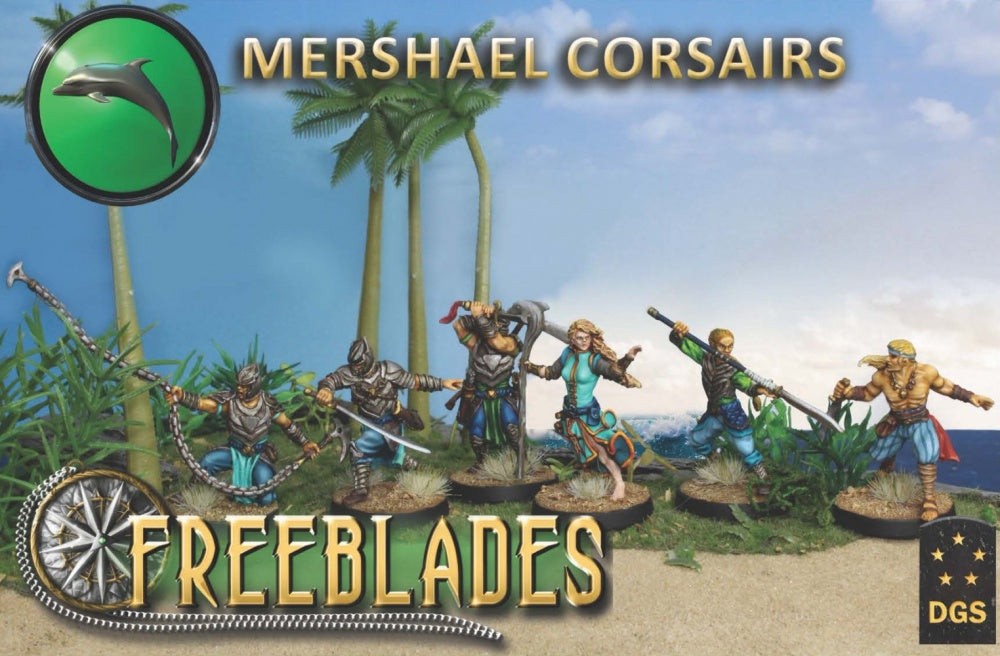 Mershael Corsairs Starter Box-Freeblades-Multizone: Comics And Games | Multizone: Comics And Games