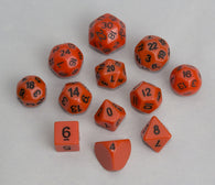 Accessories: Dice, orange (12 pcs)