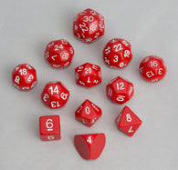 Accessories: Dice, Red (12 pcs)