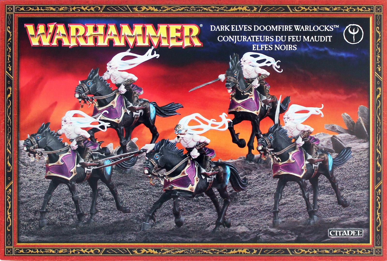 Warhammer: Dark Elves Doomfire Warlocks-Miniatures-Multizone: Comics And Games | Multizone: Comics And Games