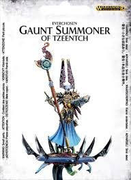 Gaunt Summoner on Disc of Tzeentch-Miniatures|Figurines-Multizone: Comics And Games | Multizone: Comics And Games