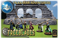 Falkaaran Adventurers: Starter Box-Freeblades-Multizone: Comics And Games | Multizone: Comics And Games