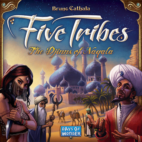 Five tribes: The Djinns of Naqala (ENG)-Board game-Multizone: Comics And Games