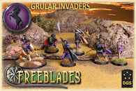 Grular Invaders: Starter Box-Freeblades-Multizone: Comics And Games