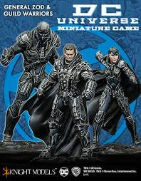 GENERAL ZOD & GUILD WARRIORS-Miniatures|Figurines-Multizone: Comics And Games | Multizone: Comics And Games